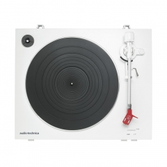 Toca-Discos Audio-Technica Automático AT-LP3WH Branco Belt-drive com capsula AT91R 3