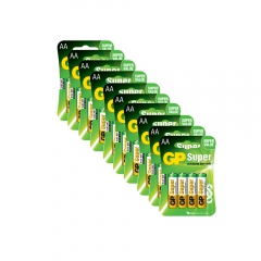 40 pilhas GP Batteries Super Alcalinas  AA 1.5V - 15A-C4X10 0