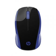 Mouse sem Fio HP X200 Oman Azul 1000 DPI Wireless 2,4GHz 1