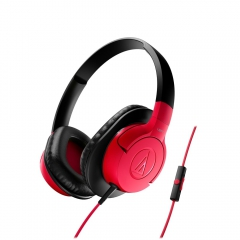 Fone De Ouvido C/ Mic Audio-Technica Over-ear Ath-ax1isrd 0