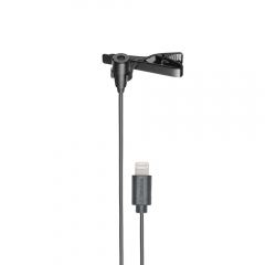 Microfone de Lapela Audio-Technica ATR3350xL para Apple iOS 1