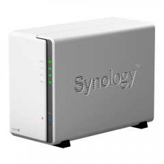 Servidor NAS Synology DiskStation DS220j com 2 baias 1