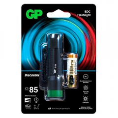 Lanterna LED GP Batteries C31 85 lúmens GPACT0C31000 6
