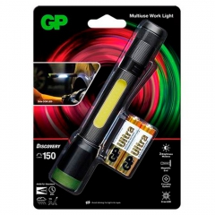 Lanterna LED GP Batteries C33 150 lúmens LED COB lateral 180 lúmens GPACT0C33000 6