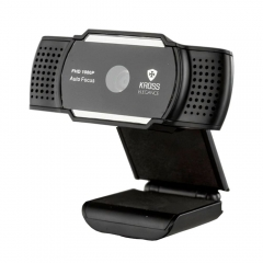 Webcam Kross Full HD 1080P com Foco Automático KE-WBA1080P 1
