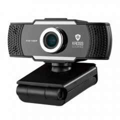 Webcam Kross Full HD 1080P com Foco Manual KE-WBM1080P 1
