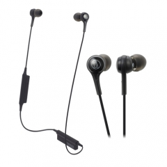 Fone Audio-Technica Bluetooth c/ microfone ATH-CK200BTBK 1