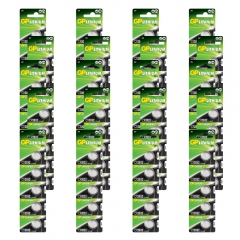 100 baterias GP Batteries Lithium Coin Cell 3V 220 mAh 1