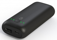 Carregador USB GP Batteries Portatil PowerBank 5.000mAh 1
