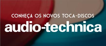 Novos Toca-discos Audio-Technica
