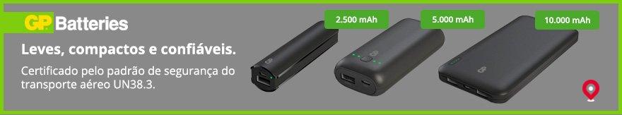 Powerbanks da GP Batteries